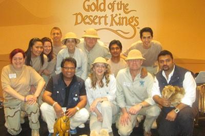 ذهب ملوك الصَّحراء – بناء الفريق