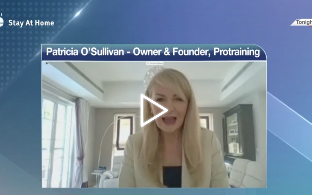 PROTRAINING founder: Patricia O'Sullivan on Dubai One TV